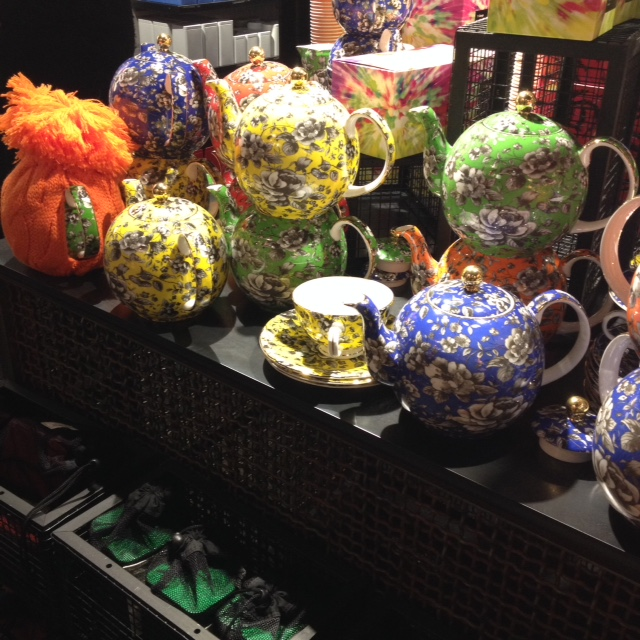 Bright floral teapot anyone?