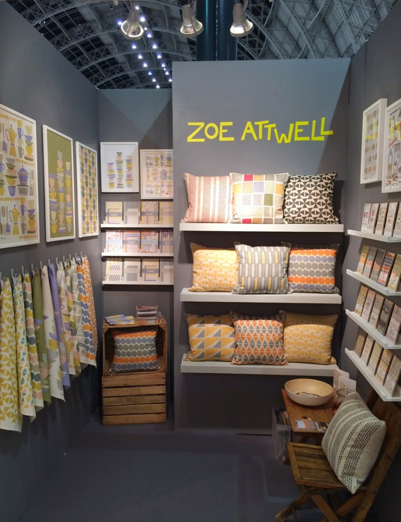 Zoe Attwell Stand at Top Drawer SS15